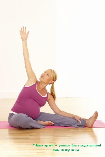 Черный список упражнений для беременных