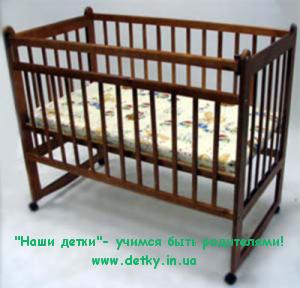 Кроватка детская «Митенька» тип 1