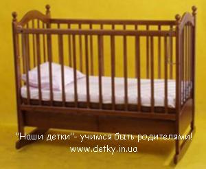 Кроватка детская «Джулия» орех