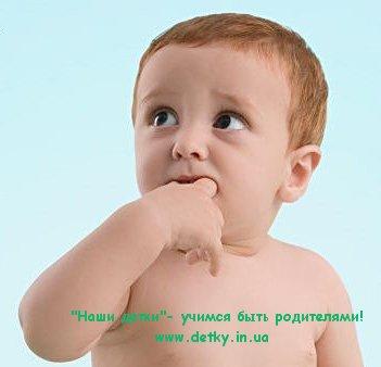 Дети 2-4 лет: привычка сосать палец