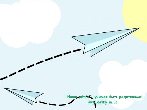 Атака бумажных самолетиков